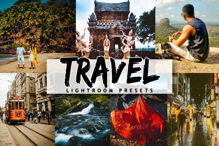 40 Travel Lightroom Presets