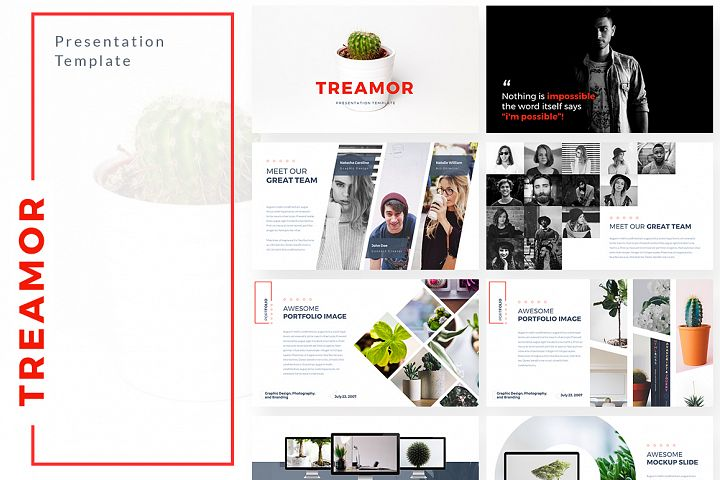 Treamor Pitch deck Powerpoint