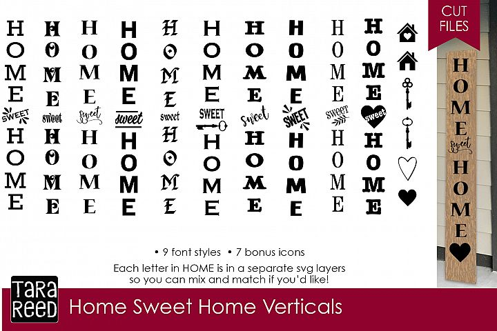 Home Sweet Home Verticals Bundle