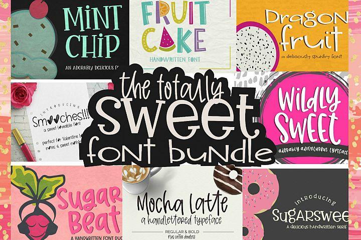 Totally Sweet Font Bundle