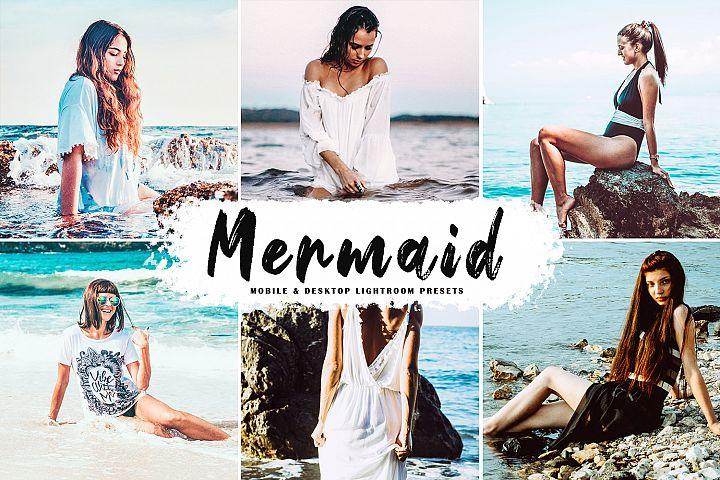 Mermaid Mobile & Desktop Lightroom Presets