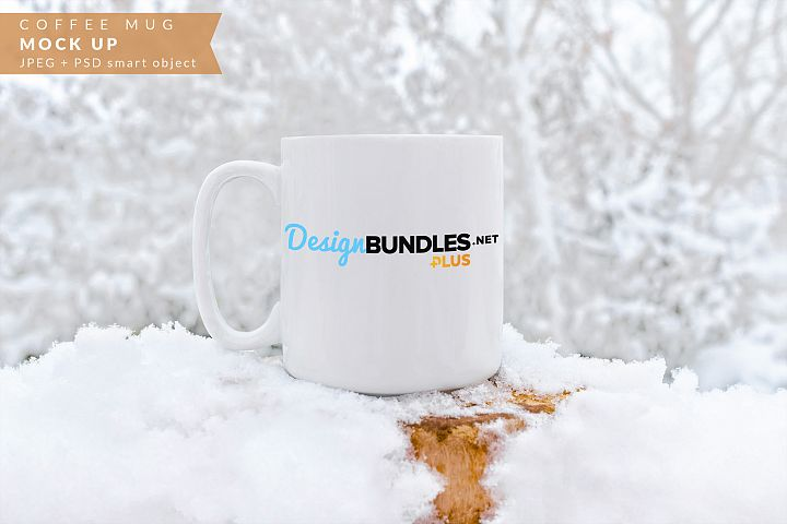 Coffee mug mock up