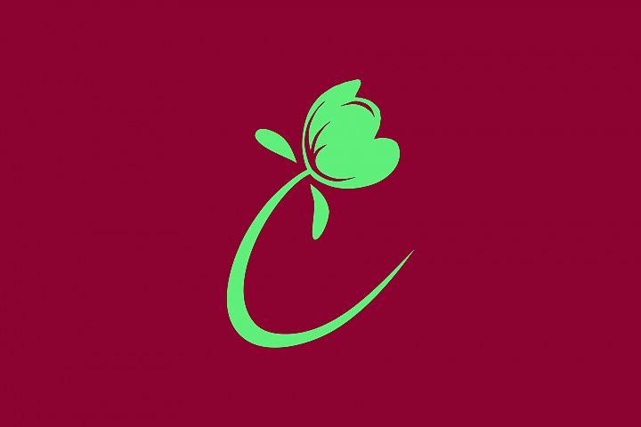 Simple Flower Logo