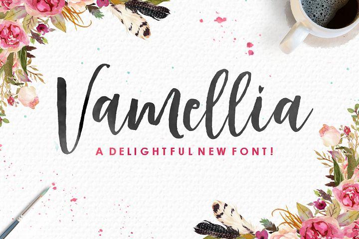 Vamellia Script