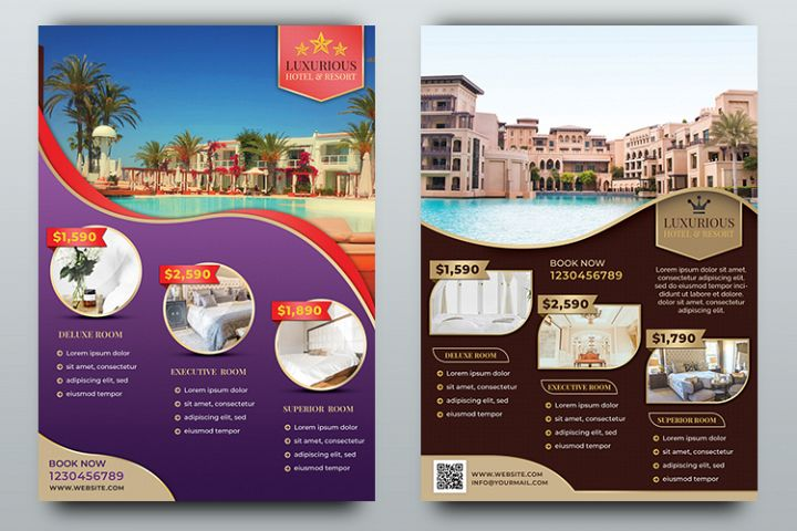 Hotel Flyer Templates