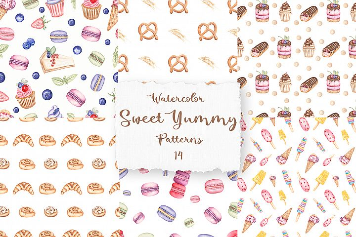 Sweet Yummy Patterns Collection