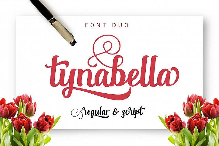 Tynabella  - Free Font of The Week Font