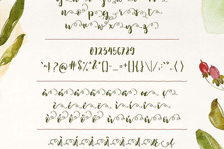 Ilana Bloom - Free Font of The Week Design 6