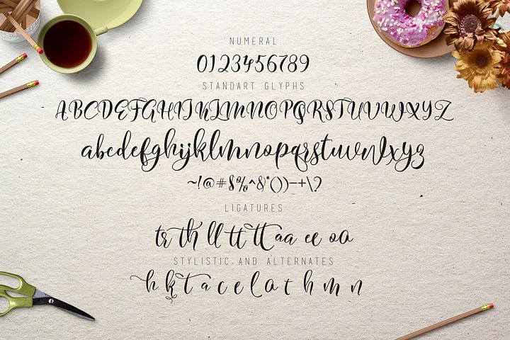 Flitte Script - Free Font of The Week Design 4