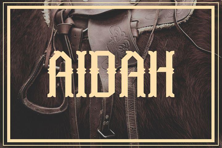 Aidah Typeface