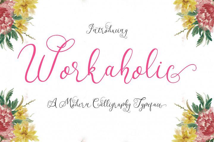 Workaholic Typeface