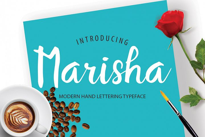 Marisha Script Font