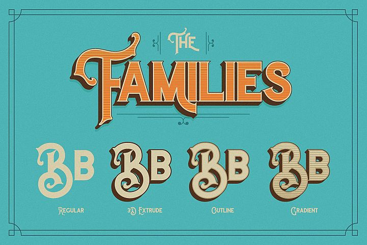 The Witch Typeface - Free Font of The Week Design 1