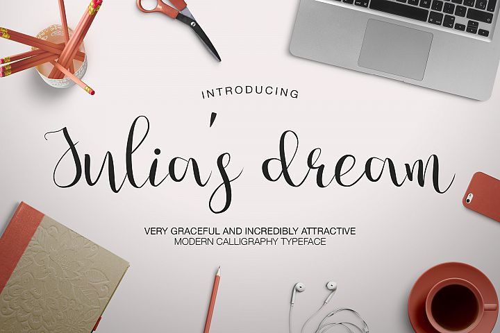 Julia's Dream - Free Font of The Week Font