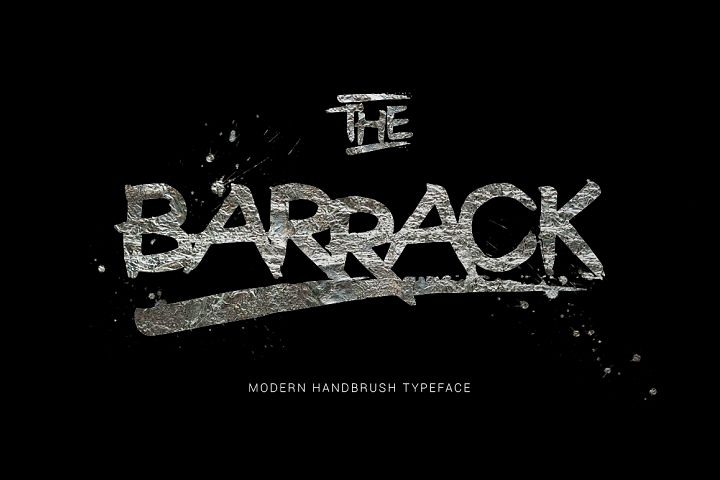 The Barrack Typeface