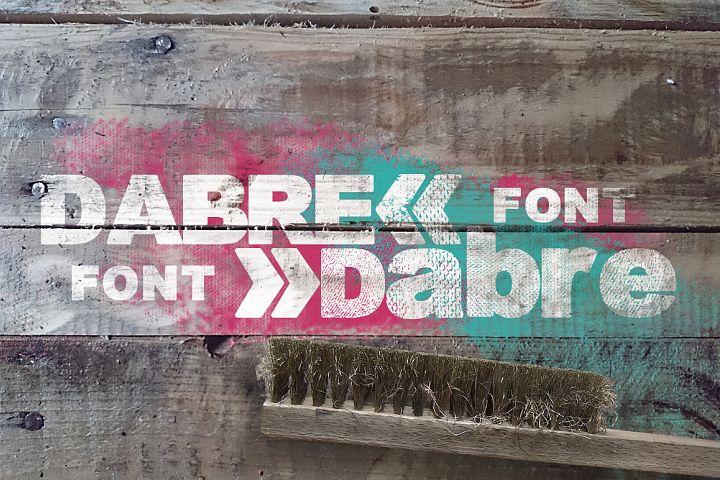Dabre Font