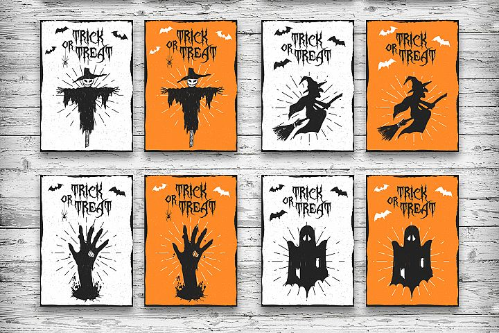 Halloween. 20 Greeting Cards - Free Design of The Week Design 6
