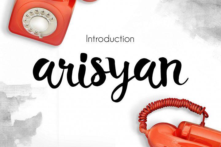 Arisyan Script