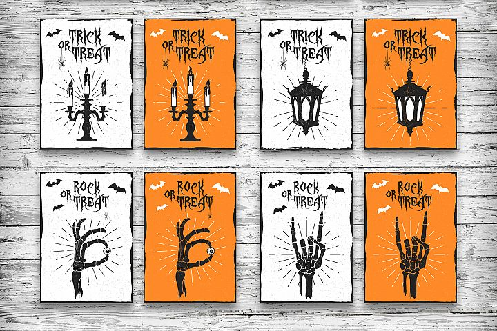 Halloween. 20 Greeting Cards - Free Design of The Week Design 5