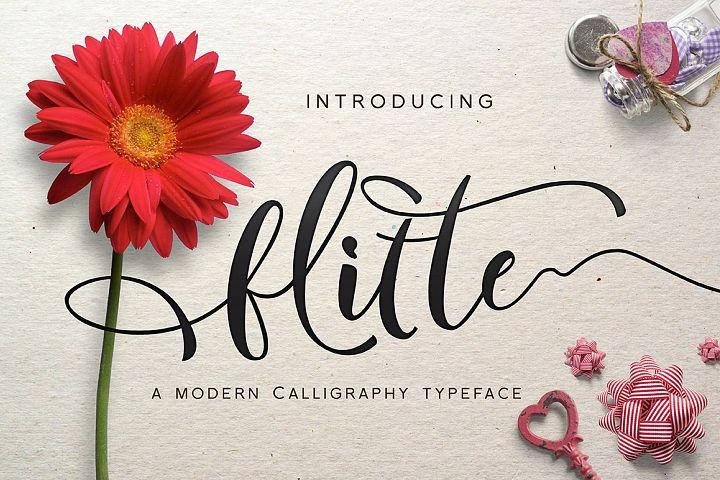 Flitte Script - Free Font of The Week Font