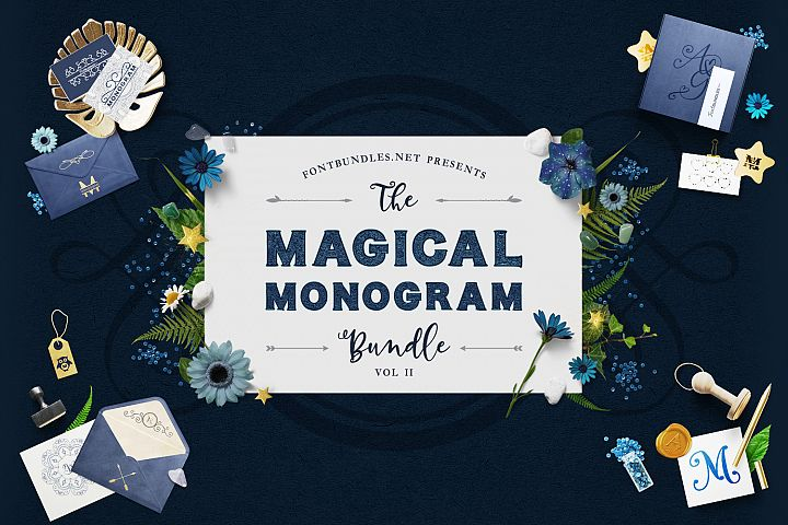 The Magical Monogram Bundle II