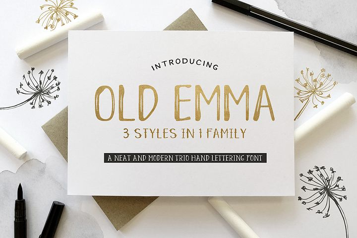 Old Emma - Free Font of The Week Font