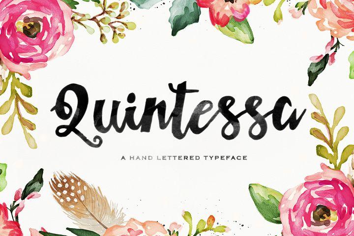 Quintessa Typeface