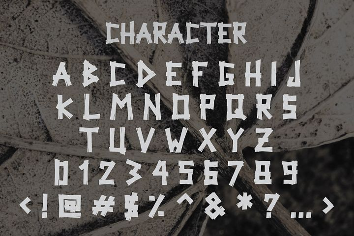 Woodpecker Typeface example image 2