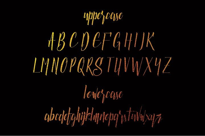 Luxurious Line Typeface - Free Font of The Week Design 1