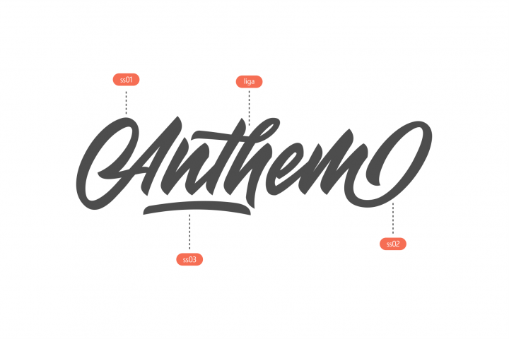 Anthem Typeface example 2