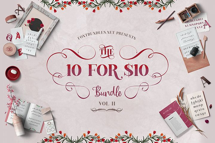 The 10 for 10 Bundle Cover