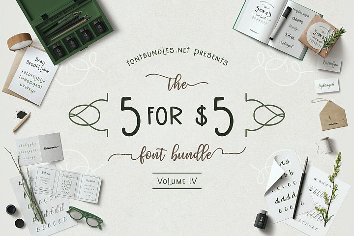 5 for 5 Bundle Volume IV