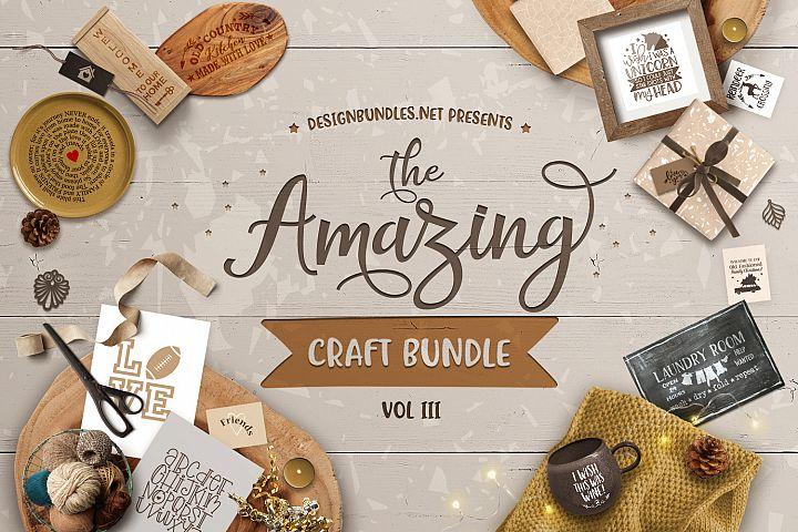 The Amazing Craft Bundle III