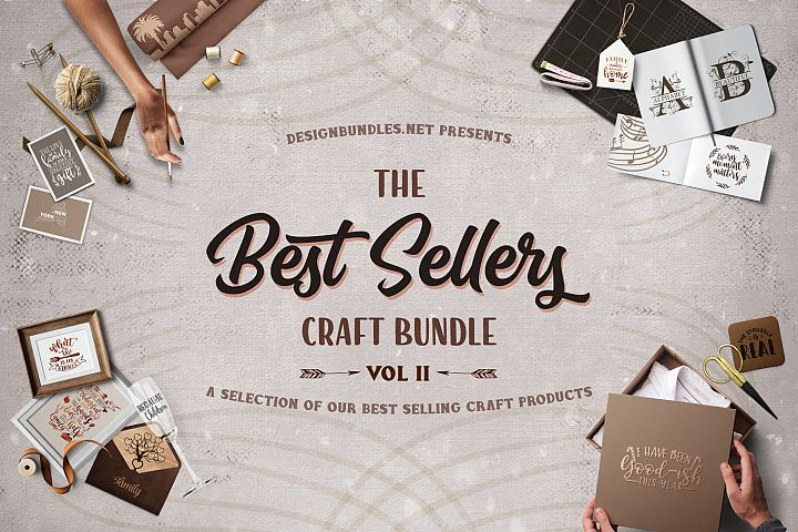 Best Seller Craft Bundle Volume II Cover