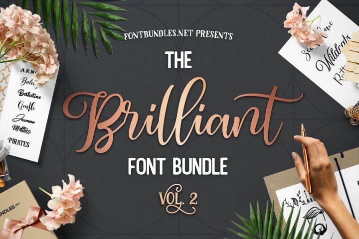 The Brilliant Font Bundle Volume II Free Download