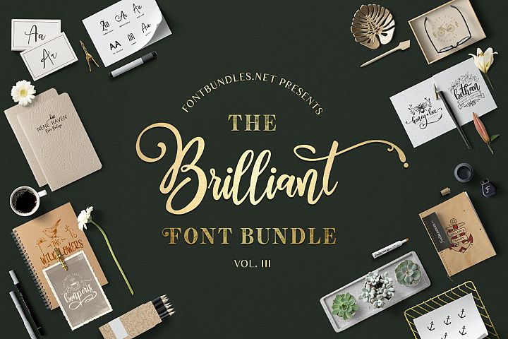 The Brilliant Font Bundle III