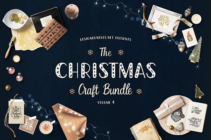 The Christmas Craft Bundle Volume 4 Cover