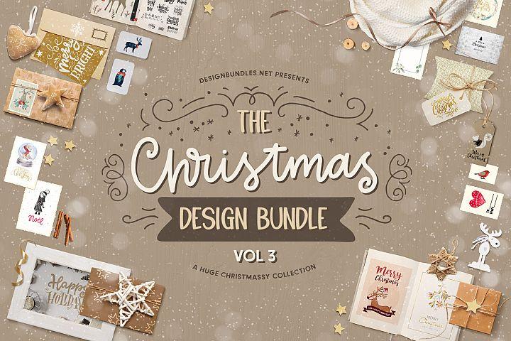 The Christmas Design Bundle Vol III  Cover