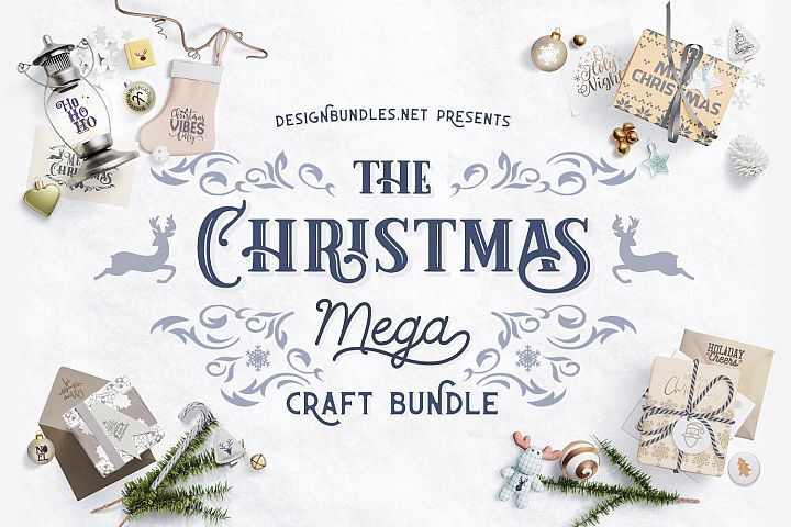 The Christmas Mega Craft Bundle