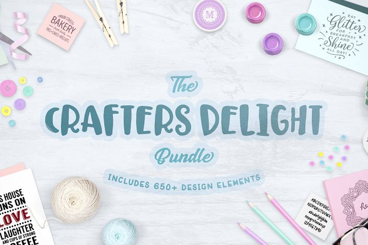 Crafters Delight Bundle Free Download