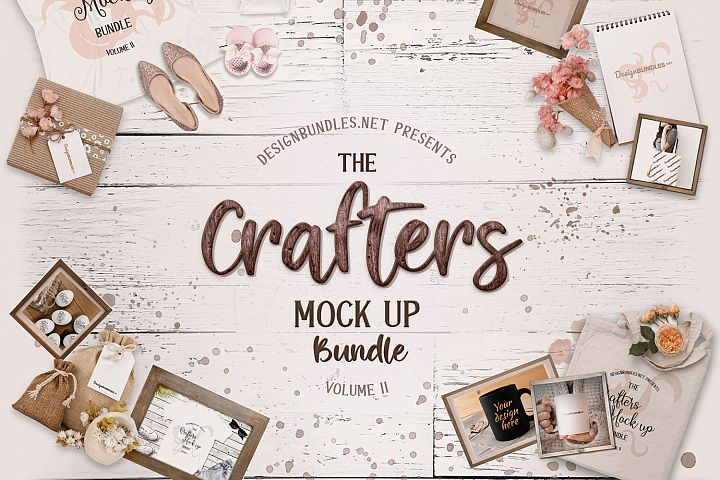 The Crafters Mock Up Bundle II