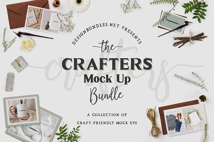 The Crafters Mock Up Bundle