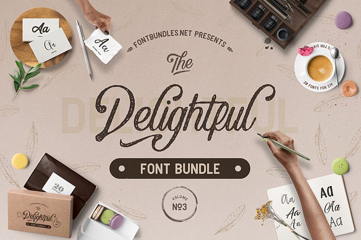 The Delightful Font Bundle Vol III