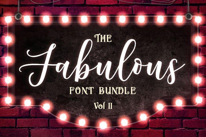The Fabulous Font Bundle Volume II Free Download