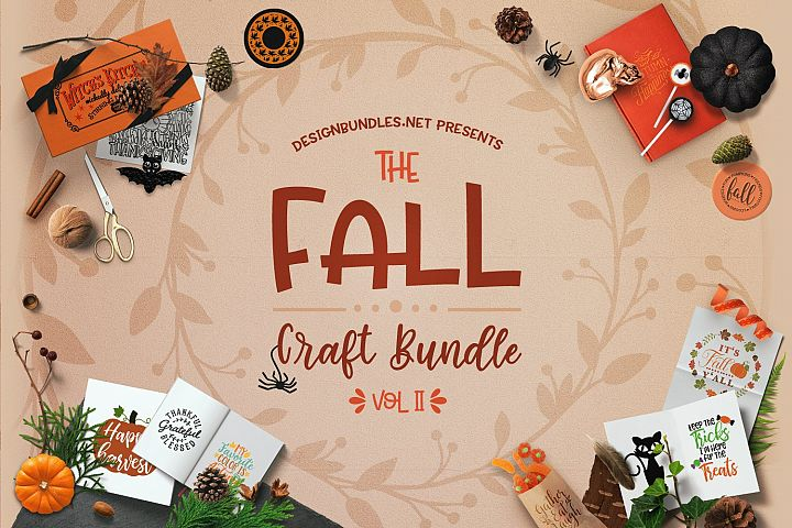 The Fall Craft Bundle Volume II Cover