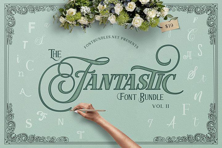 The Fantastic Font Bundle II Free Download