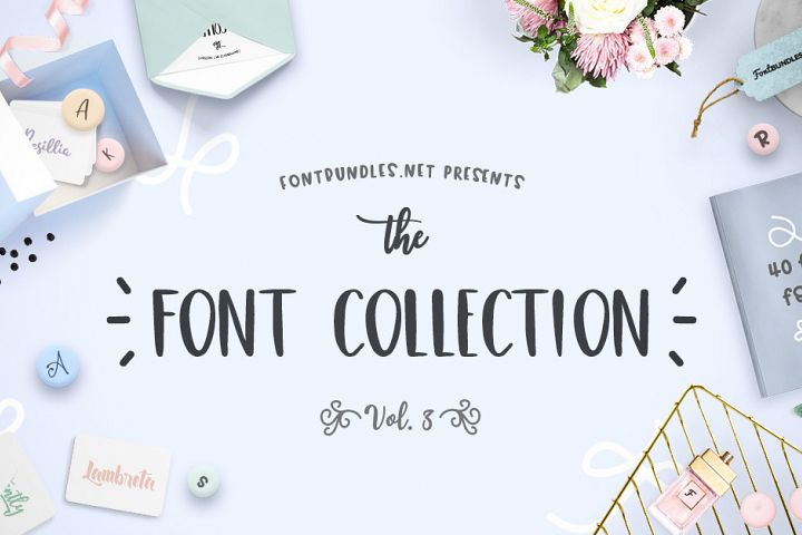 The Font Collection Volume III Free Download