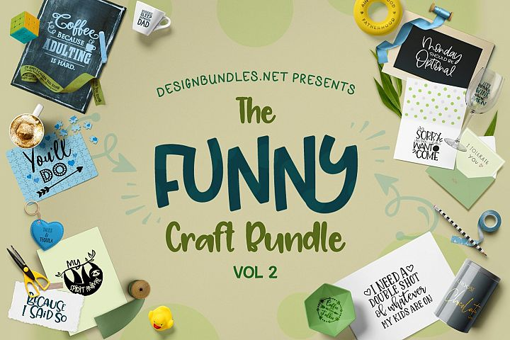 Funny Craft Bundle II