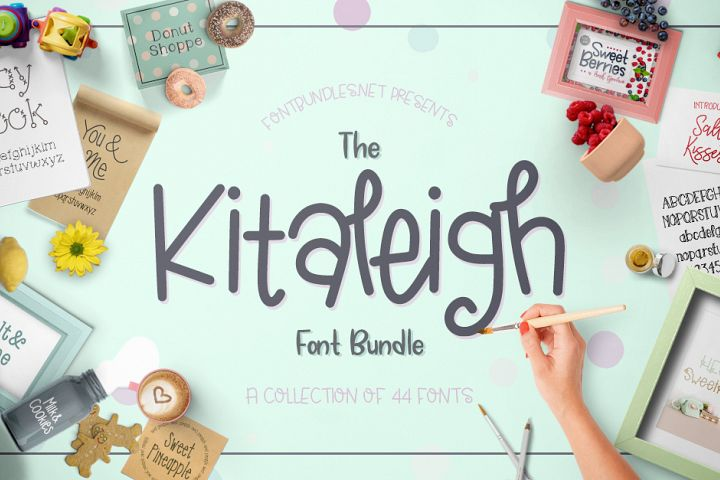 The Kitaleigh Font Bundle Free Download
