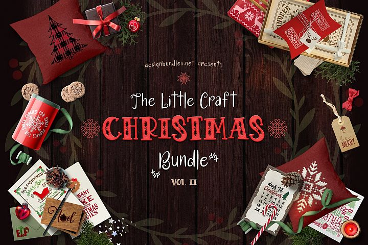The Little Craft Christmas Bundle II Cover